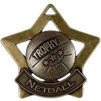 Mini Star Netball Medal</br>AM722B